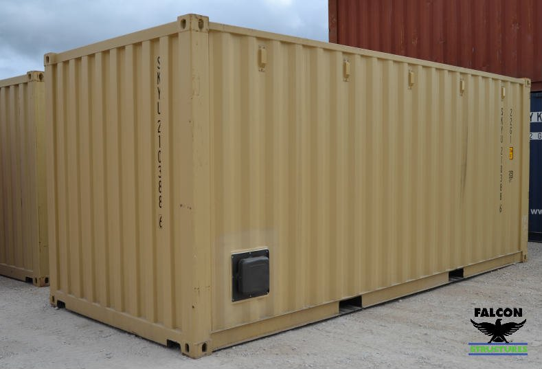 Vented Shipping Container