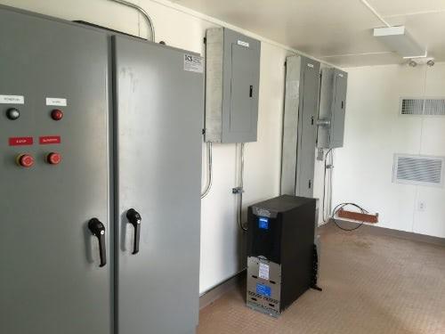 Equipment and controls enclosure