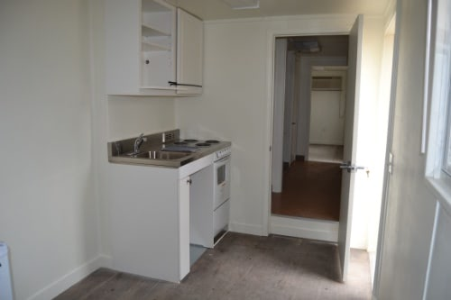 Shipping container kitchenette