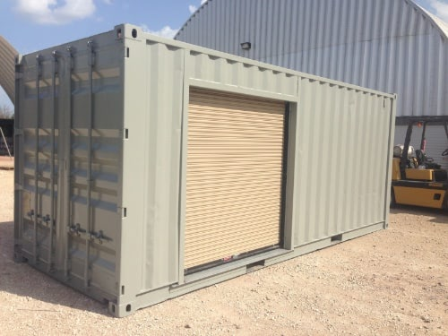 20ft With Side Roll Up Door