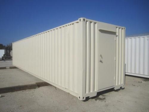 40ft storage container with door