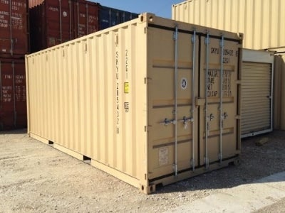 20ft one-trip shipping container