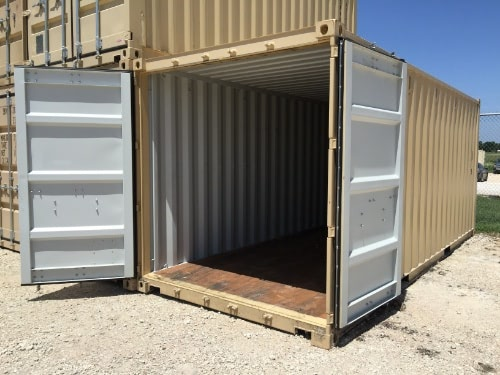 20ft Container with open cargo doors