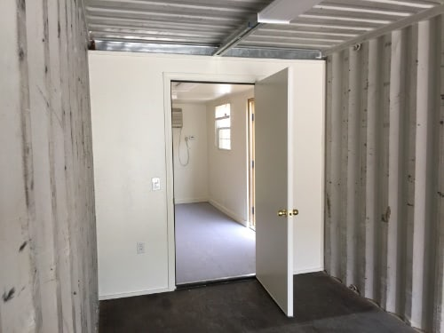 20ft Store and Work Shipping Container Office Interior