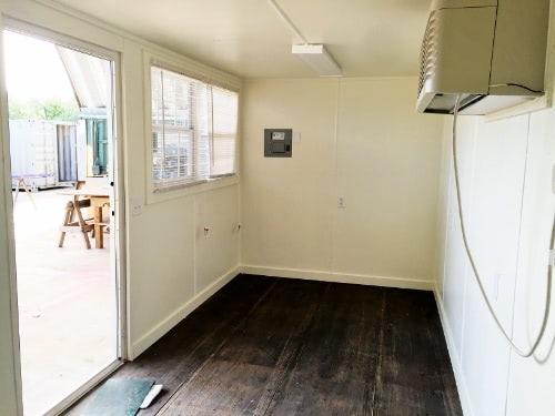Office interior with HVAC