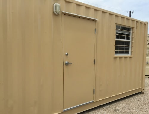 40ft Workplace Shipping Container Office Exterior Includes Conference Room