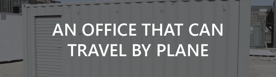 Lockheed Martin case study banner: an office that can travel by plane