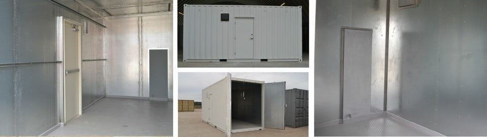 Water Treatement Equipment Enclosures