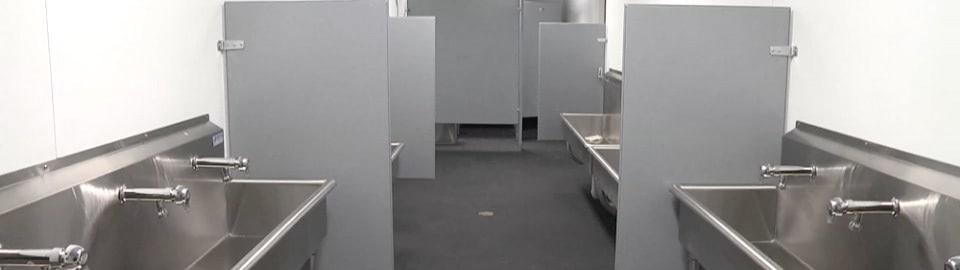Falcon Mobile Field Restroom Interior
