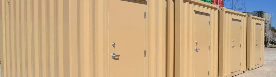 Industrial Container Equipment Enclosure 10ft