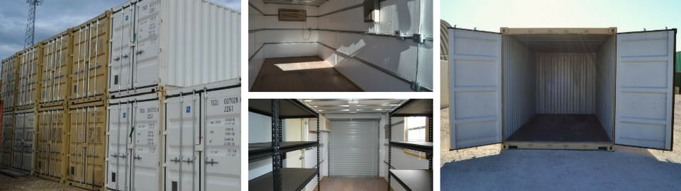 Portable Container Storage Solutions