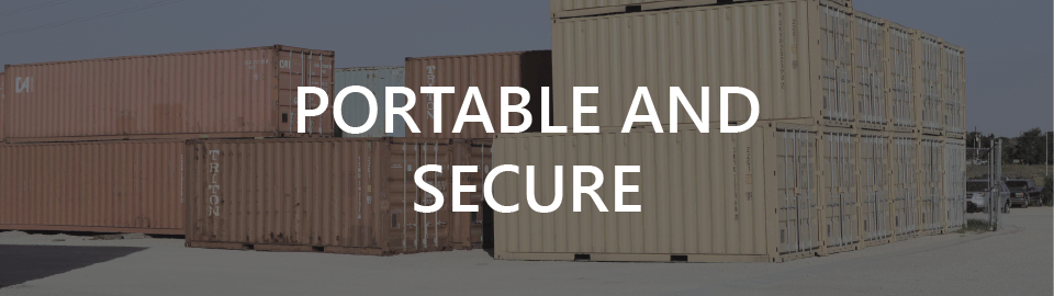 Modified ISO Containers: Portable and Secure