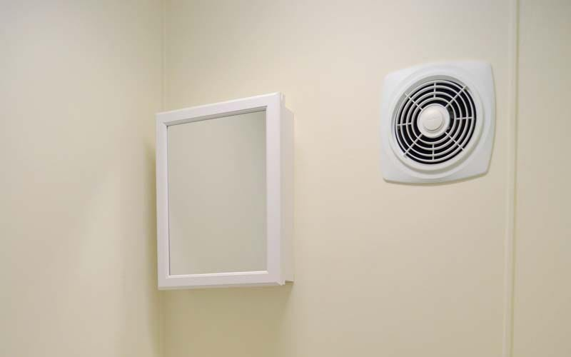 Bathroom fan