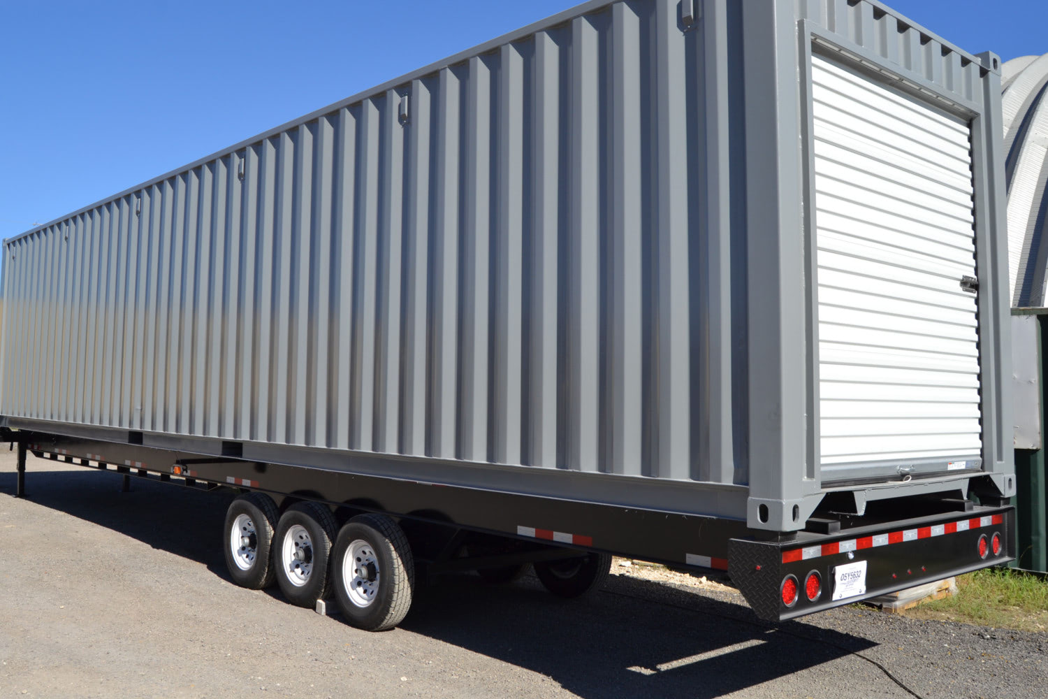 Container accessory 2: a trailer or chassis