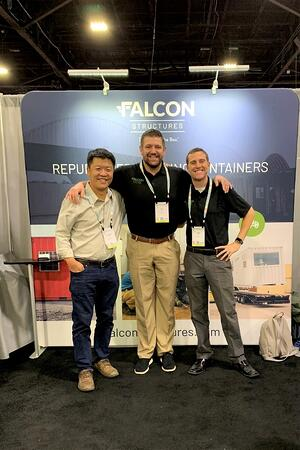 Falcon Team at Greenbuild 2019