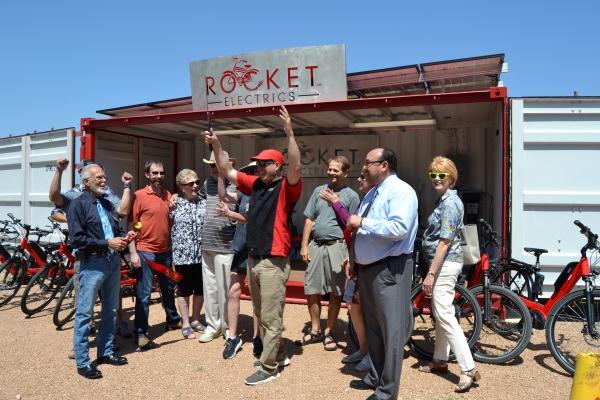 Rocket Electrics Grand Opening