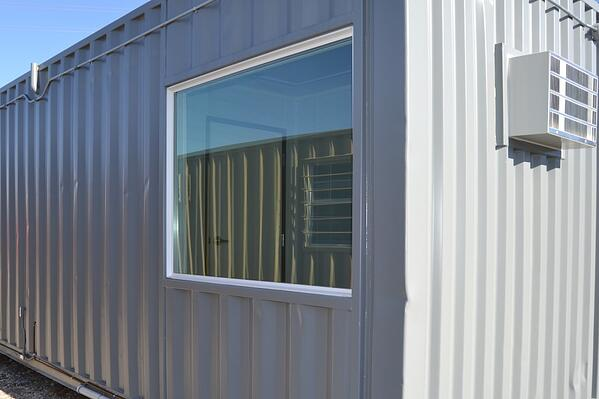 Shipping Container Extra Large Window