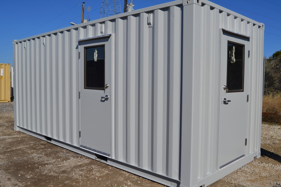 Shipping Container Prefab Equipment Shelters Are Turnkey