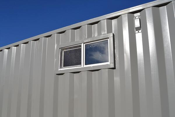 Shipping Container Privacy Window