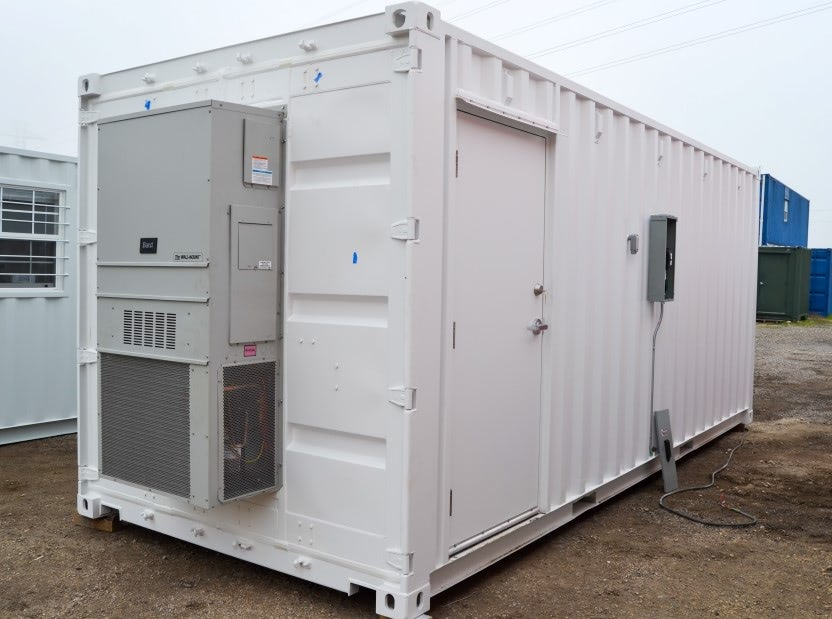 Shipping Container Server Room AC Unit