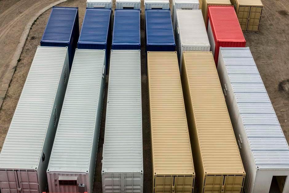 conex box vs Intermodal container