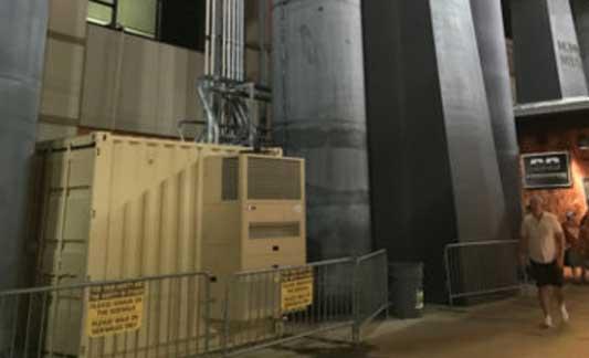 BHS equipment enclosure exterior