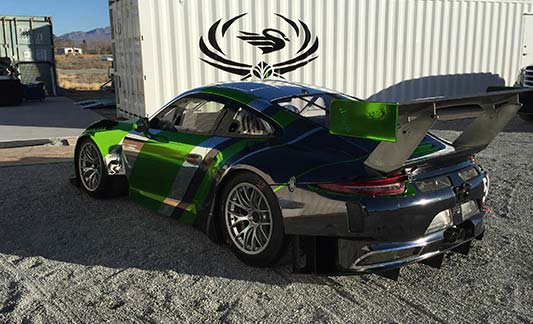 Blackswan racing Porsche