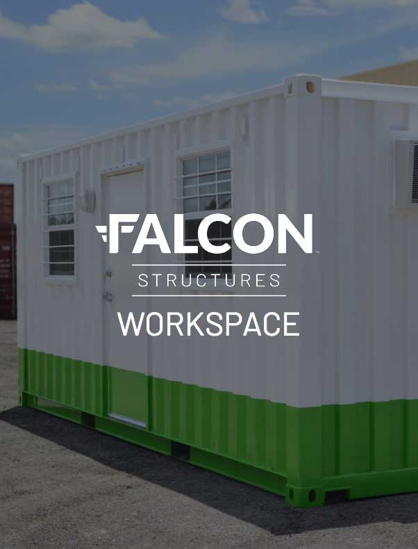 Catalog cover for shipping container workspace