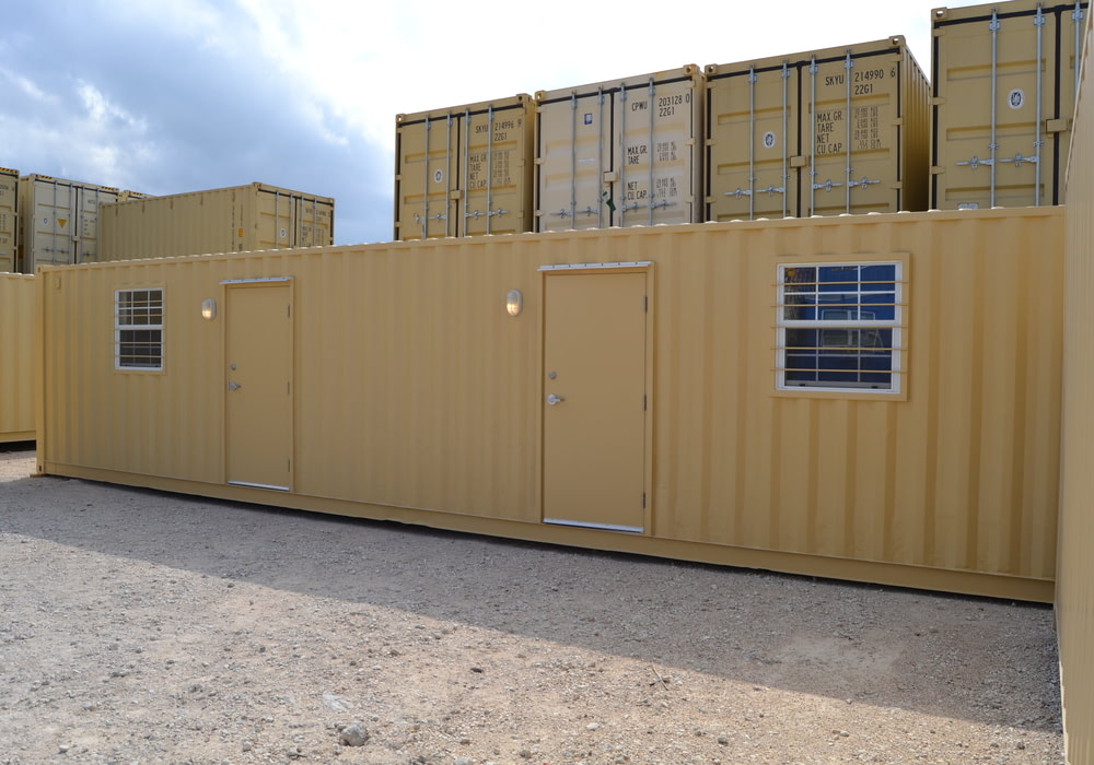 40 ft jack and jill living container