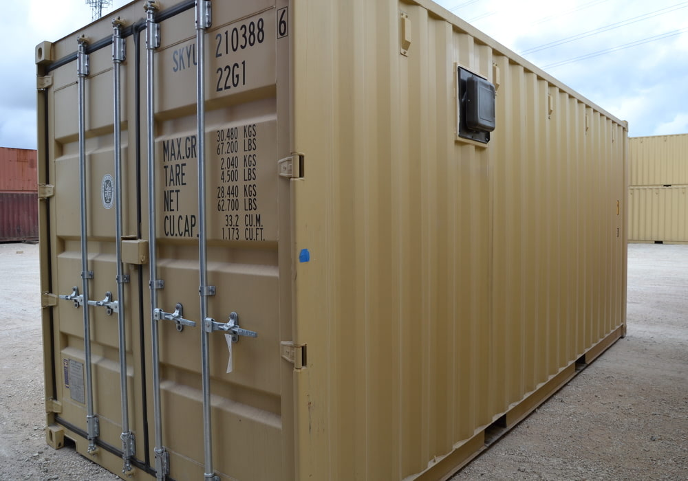 20 ft double vented storage container