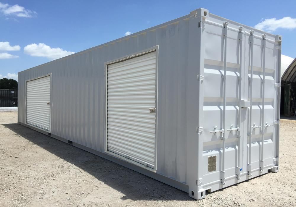 40 ft double overhead door