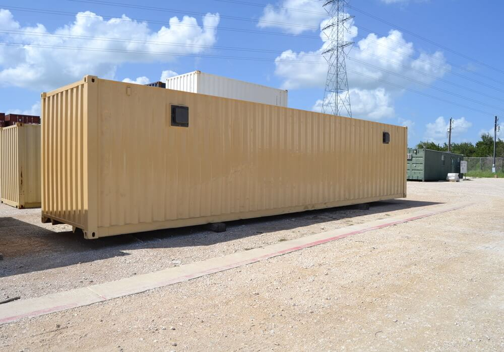 40 ft double vented container floor plan