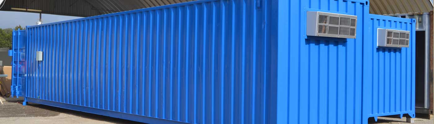 Climate controlled storage container