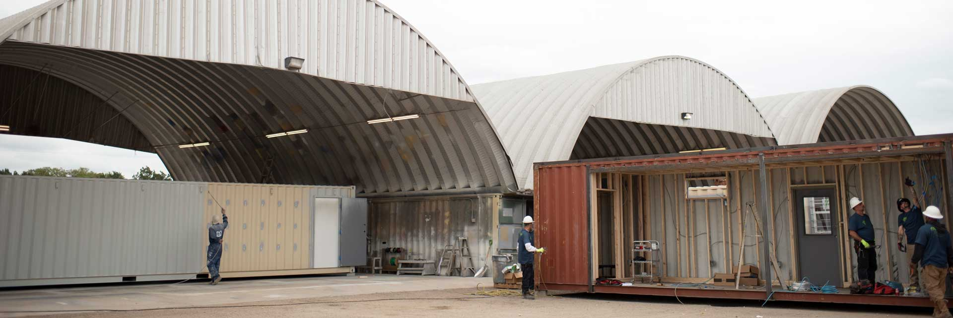 Falcon Structures manufacturing domes