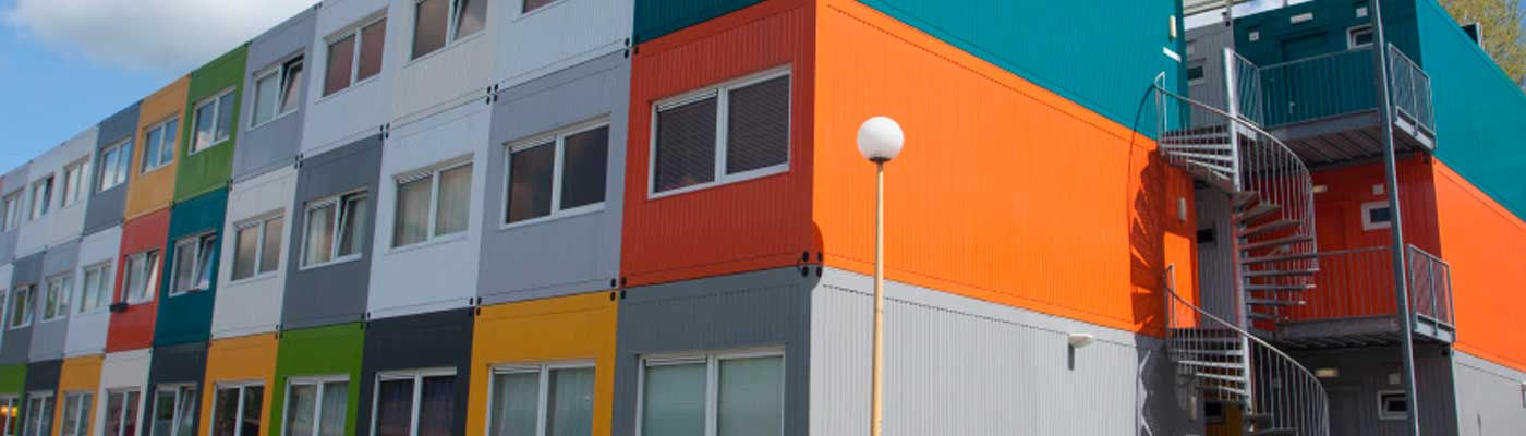 Multi-container student housing