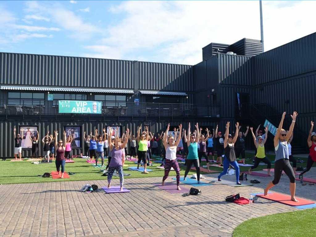 Yoga at Fortress Obetz