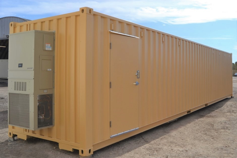Modified Steel Shipping Container