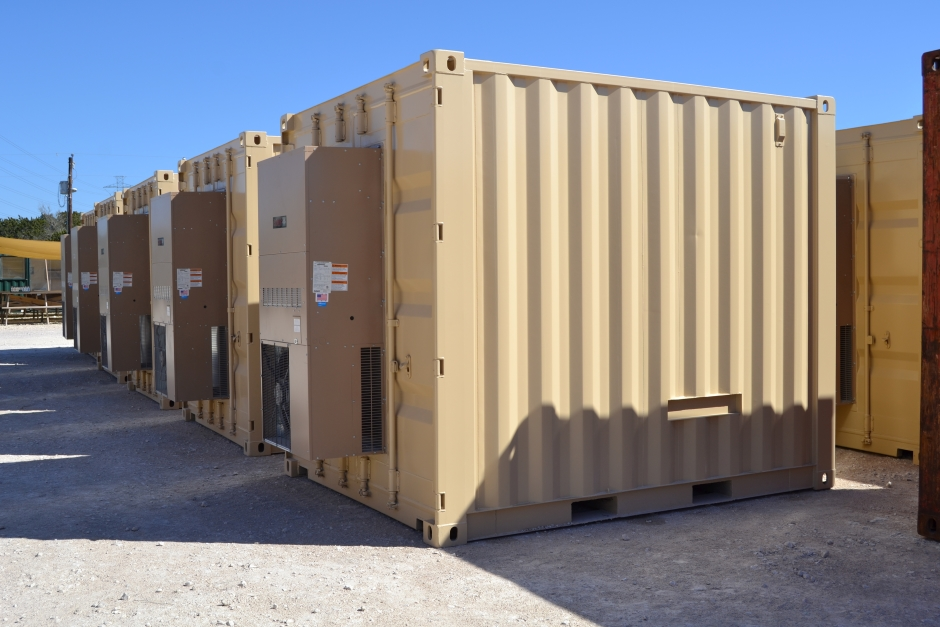 RTU Shipping Container Strucutre