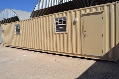 40ft Construction Site Office with Half Bath