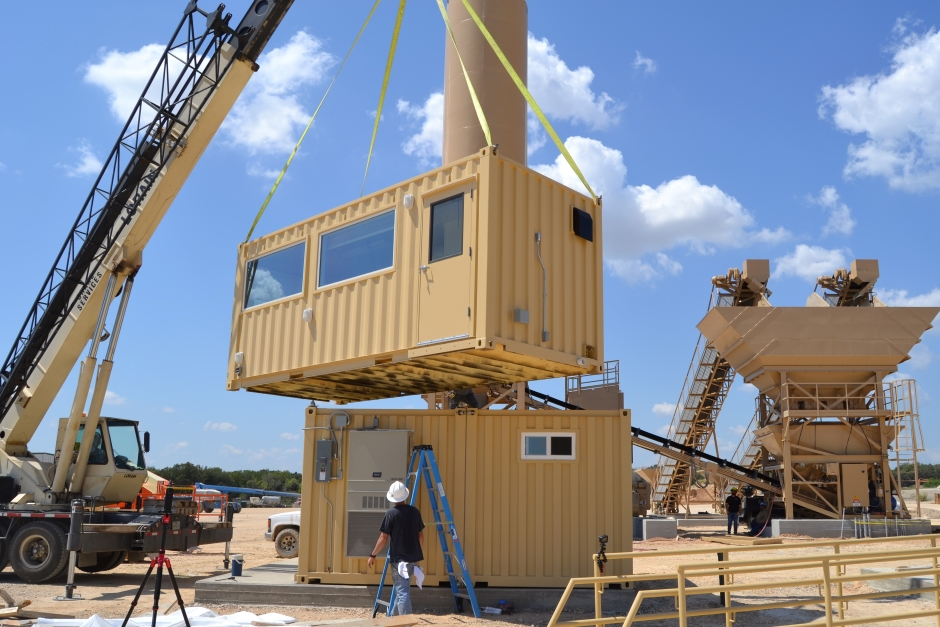 Stacking shipping containers safely