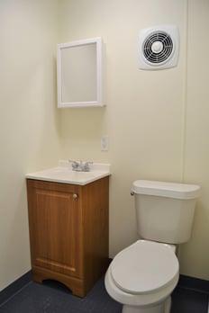 Half-bath-workspace-modification