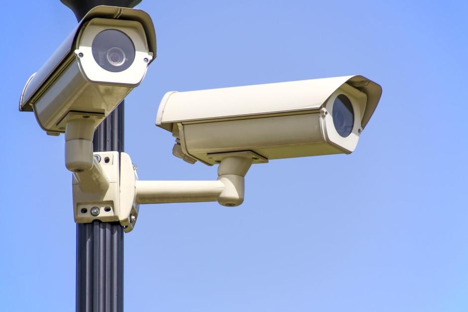 construction theft prevention security cameras