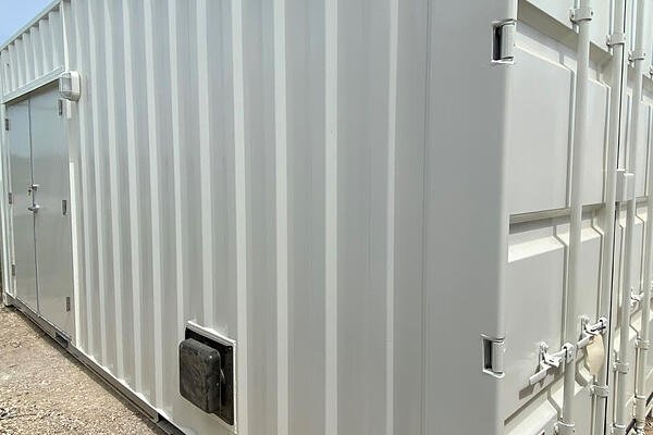 shipping container MCC enclosure