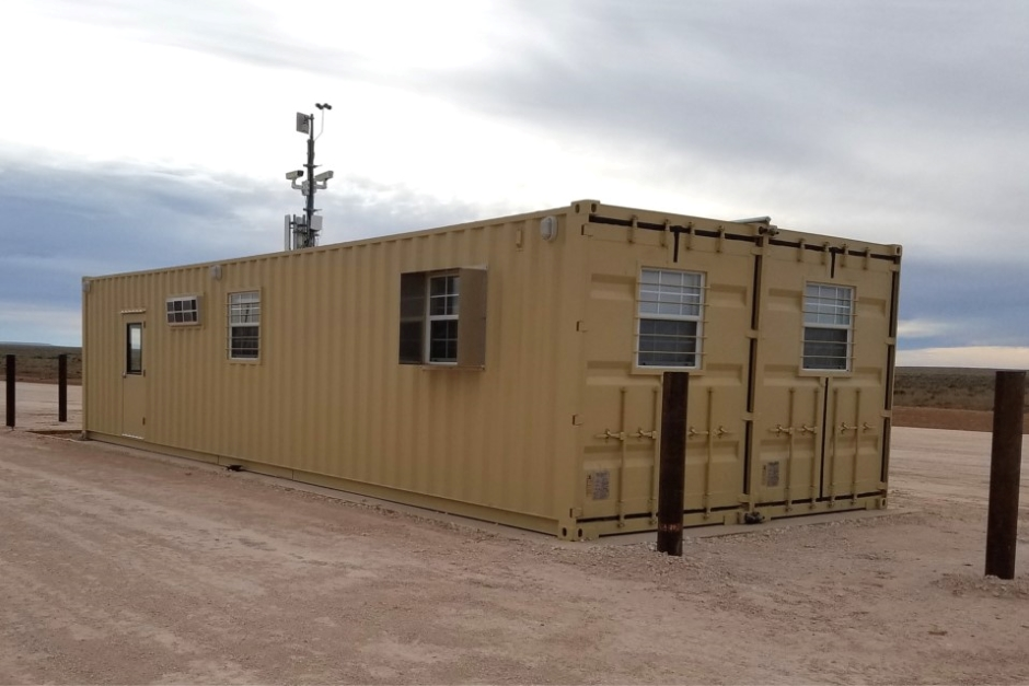 container-military-check-in-facility