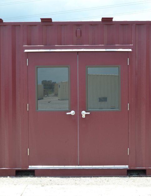 double-wide-personnel-door-storage
