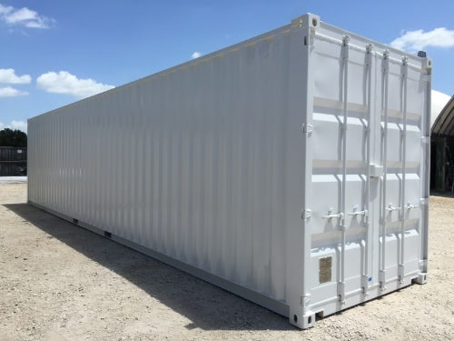 40ft Painted Shipping Container