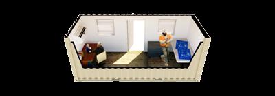 20ft Open Office rendering