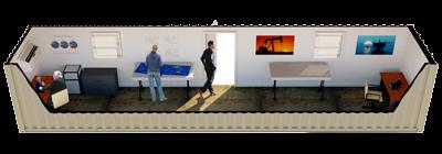 40ft Open Office rendering