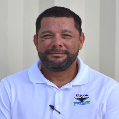 Anthony Moreno, Falcon Structures' Production Manger