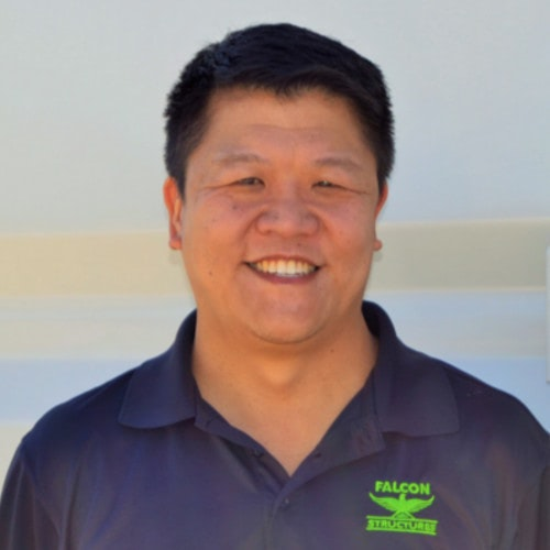 Stephen Shang, CEO of Falcon Structures